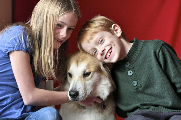 Mental Health benefits children and pets