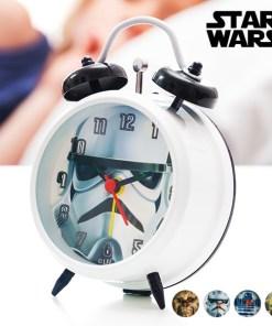 Despertador com Ponteiro de Segundos Star Wars