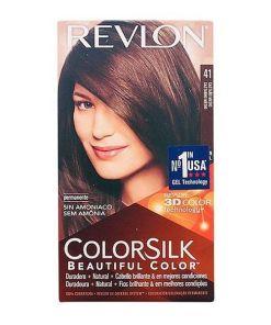 Tinta Sem Amoníaco Colorsilk Revlon Castanho