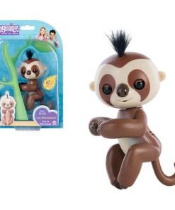 Boneco Baby Sloth Fingerlings Castanho 117511