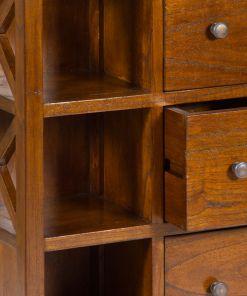 Mobiliário Auxiliar Madeira de cedro (87 x 46 x 23 cm) - Franklin Coleção by Craftenwood