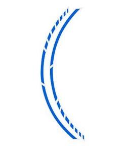 Adesivo para Pneus Foliatec Azul