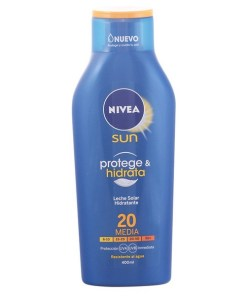Leite Solar Protege & Hidrata Nivea SPF 20 (400 ml)