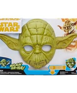 Máscara Eletrónica Star Wars - Yoda Hasbro (Espanhol)