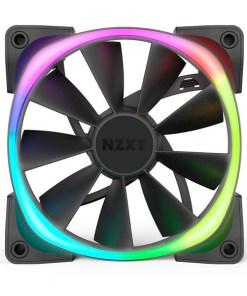 Ventilador de Caixa Gaming NZXT HF-28140-B1 Ø 14 cm 1500 rpm LED RGB Preto