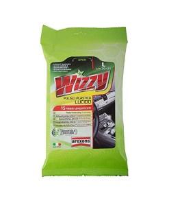 Toalhetes de Limpeza Esterilizados (Pack) Arexons Wizzy Plástico (15 uds)