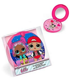 Conjunto de Maquilhagem Infantil Cartoon Cor de rosa