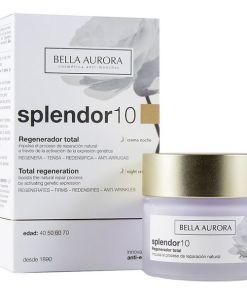 Creme de Noite Splendor 10 Bella Aurora (50 ml)