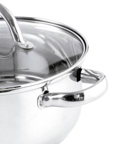 Bateria de Cozinha Quid Ottawa Aço inoxidável (8 pcs)