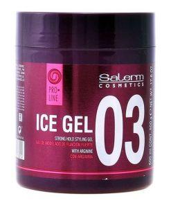 Fixador Forte para o Cabelo Ice Salerm