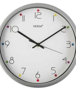 Relógio de Parede Plástico (0,4 x 30,5 x 30,5 cm)