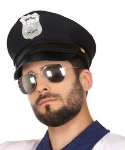 Chapéu Polícia Preto 117699