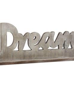 Letreiro de Madeira Dream 110792