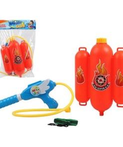 Pistola de Água com Mochila Depósito Firefighter