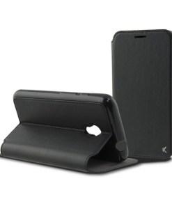 Capa tipo Livro para o Telemóvel Alcatel Pixi 4 Flex Preto