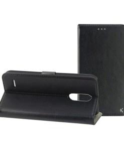 Capa tipo Livro para o Telemóvel com Íman Lg K9 Magnetic Standing