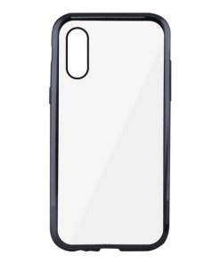 Capa para Telemóvel Iphone Xs Max KSIX Flex Metal Transparente