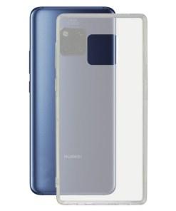 Capa para Telemóvel Huawei Mate 20 Pro KSIX Flex Transparente