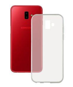 Capa para Telemóvel Samsung Galaxy J6+ 2018 Flex TPU Transparente