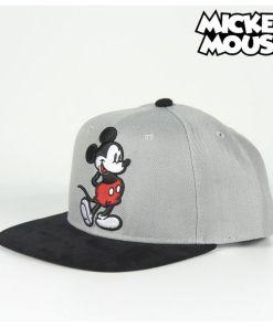 Boné Infantil Mickey Mouse 73346 (Ø 59 cm) Cinzento Preto