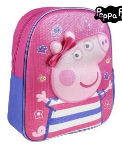 Mochila Infantil 3D Peppa Pig 72622 Cor de rosa