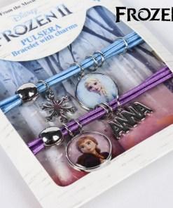 Pulseira de Menina Frozen 73904 Azul Roxo
