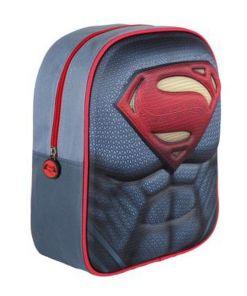 Mochila Infantil 3D Superman 3406