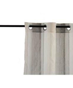 Cortinas Riscas (260 x 1 x 140 cm) Bege