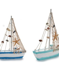 Barco Madeira (5 x 25,5 x 18,5 cm)