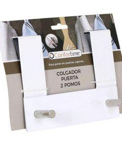 Ganchos para Portas Confortime (2 Cabides) (17 X 13,4 x 8,5 cm)