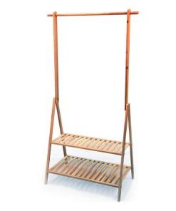 Staande kapstok Confortime madera (65 x 40 x 160 cm)
