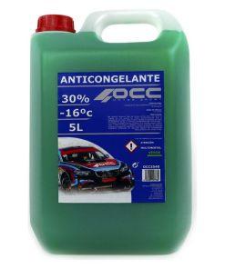 Anticongelante OCC3540 30% Verde (5 L)