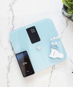 Balança digital para casa de banho Cecotec Surface Precision 10400 Smart Healthy Vision Azul