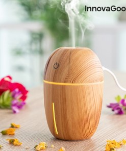 Mini-Humidificador Difusor de Aromas Honey Pine InnovaGoods