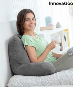 Almofada de Leitura com Apoios para os Braços Huggilow InnovaGoods