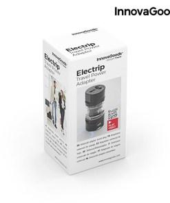 Adaptador de tomada universal de viagem Electrip InnovaGoods