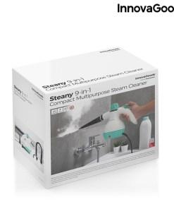 Vaporizador Manual Multiúsos com Acessórios 9 em 1 Steany InnovaGoods 0,35 L 3 Bar 1000W