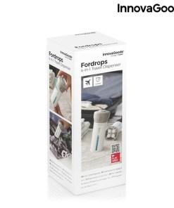 Dispensador de Líquidos de Viagem 4 em 1 Fordrops InnovaGoods