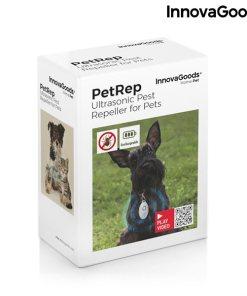 Repelente de Parasitas por Ultrassom Recarregável para Animais de Estimação PetRep InnovaGoods