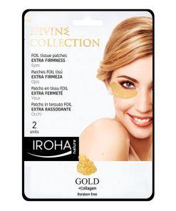 Patch para o Contorno dos Olhos Gold Iroha (2 uds)