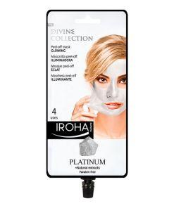 Máscara Facial Peel Off Platinum Iroha