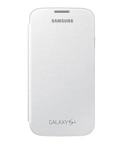Capa tipo Livro para o Telemóvel Samsung Galaxy S4 i9500 Branco