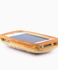 Capa Aromática em Forma de Pão para iPhone