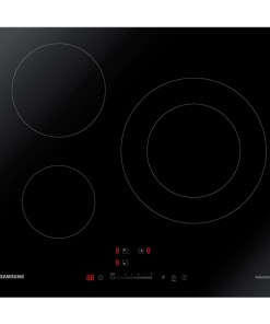 Placa de Indução Samsung NZ63R3727AK 60 cm (3 Zonas de cozedura)
