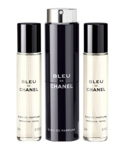 Conjunto de Perfume Homem Bleu Chanel (3 pcs)