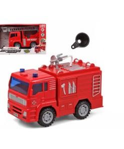Camião de Bombeiros Vermelho Leve Som 119329