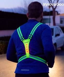 Colete Refletor com LED para Desportistas InnovaGoods