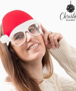Óculos com Chapéu de Pai Natal Christmas Planet