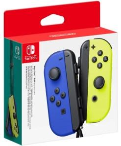 Gamepad sem Fios Nintendo Joy-Con Azul Amarelo