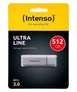 Pendrive INTENSO 3531493 512 GB USB 3.0 Prateado